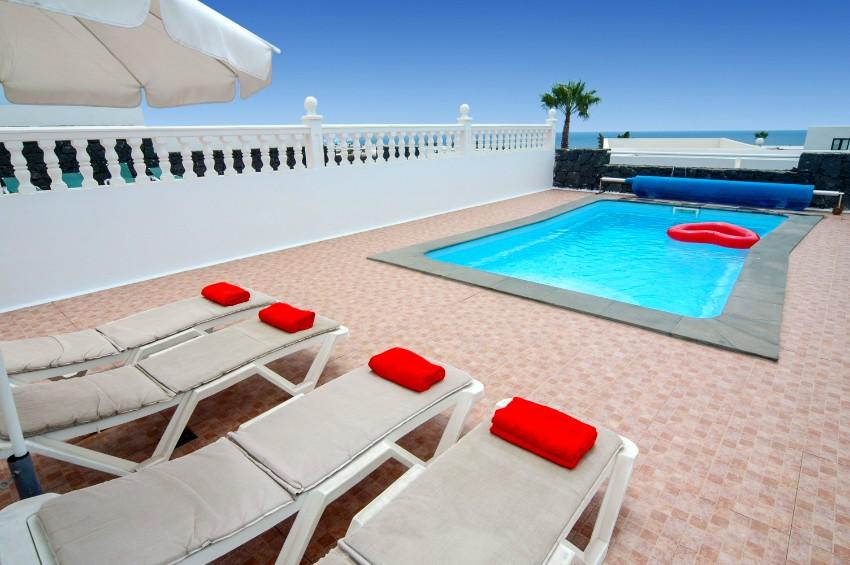 Villa LVC198991 Holiday villa in Puerto del Carmen with private, gated pool and sea views